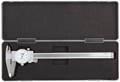 Fowler-Full-Warranty-Stainless-Steel-Shockproof-Dial-Caliper-52-008-708-0-0-8-Measuring-Range-0001-Graduation-Interval-Face-Color-White-0-0