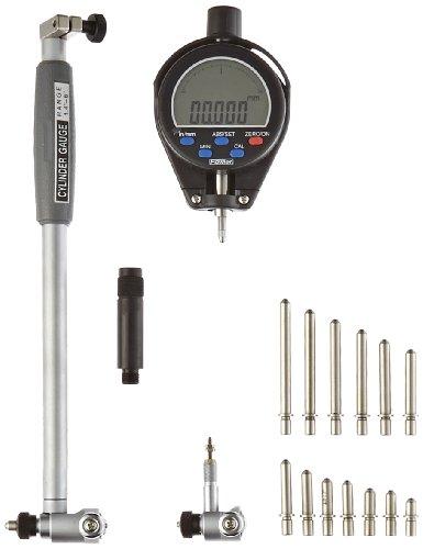 Fowler-Full-Warranty-X-tender-E-Electronic-Dial-Bore-Gage-Gauge-Set-54-646-401-14-6-Measuring-Range-0