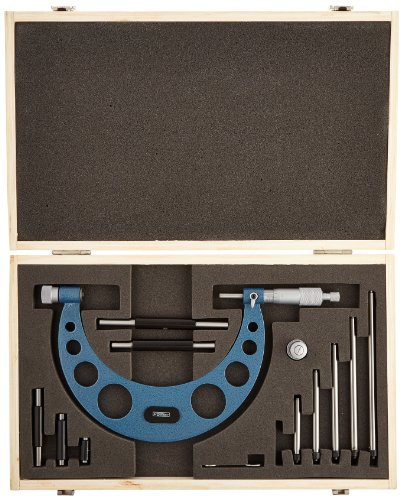 Fowler-Interchangeable-Anvil-Micrometer-Set-Large-Capacity-0001-Graduation-Intervals-0-0