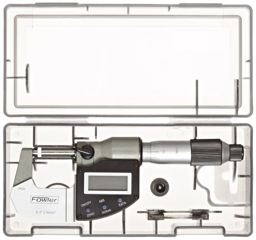Fowler-Rugged-Steel-Xtra-Value-IP54-Digi-Micrometer-0000050001mm-Resolution-RS-232-Output-0-0