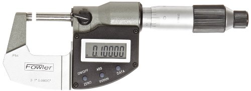Fowler-Rugged-Steel-Xtra-Value-IP54-Digi-Micrometer-0000050001mm-Resolution-RS-232-Output-0