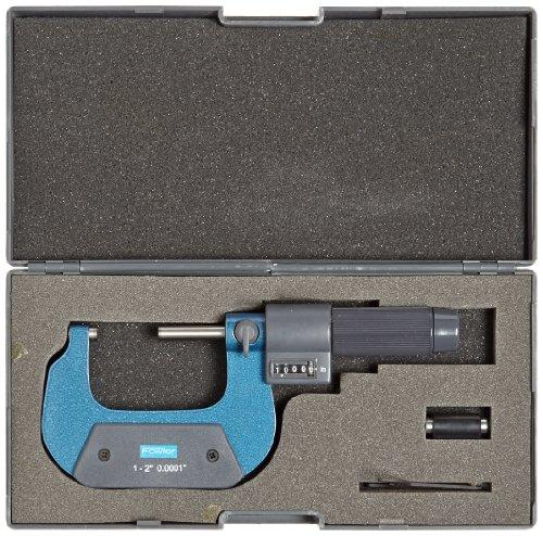 Fowler-Steel-EZ-Read-Digit-Outside-Micrometer-00002-Accuracy-00001-Resolution-0-0