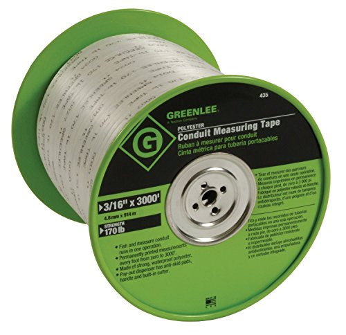 Greenlee-435-Polyester-Conduit-Measuring-Tape-316-Inch-By-3000-Feet-0