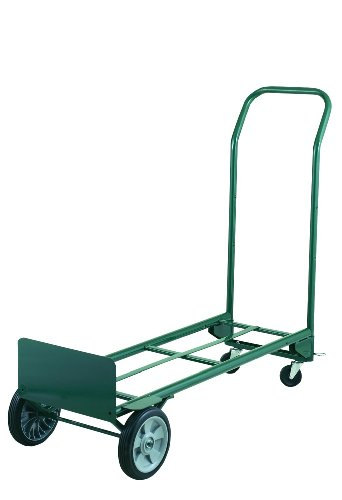 Harper-Trucks-Dual-Purpose-2-Wheel-Dolly-and-4-Wheel-Cart-with-8-Flat-Free-Tires-0-0