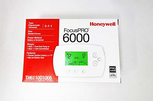 Honeywell-TH6110D1005U-FocusPRO-6000-Programmable-Thermostat-White-0