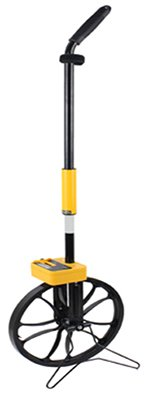 Johnson-Level-Tool-Johnson-1879-0115-Measuring-Wheel-3-Foot-Circ-115-Dia-Metal-0