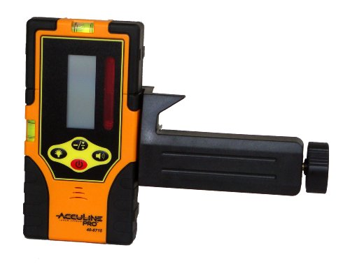 Johnson-Level-and-Tool-40-6715-Two-Sided-Laser-Detector-with-Clamp-0