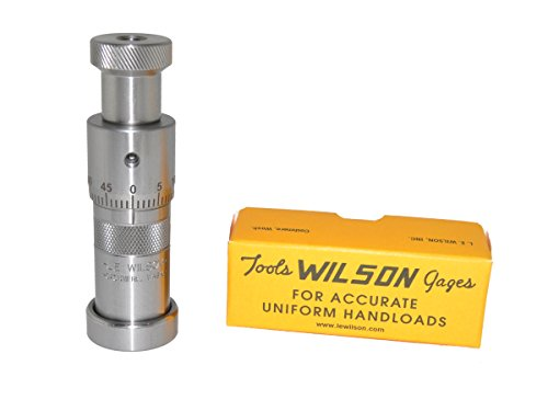 LE-Wilson-S6M-BR-6mm-B-R-Micro-Bullet-Seater-Stainless-Steel-0