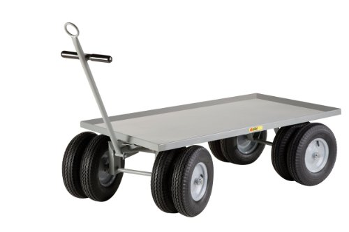Little-Giant-CD-3660-16P-CR-Steel-Lip-Edge-8-Wheeler-Wagon-Truck-3000-lbs-Capacity-60-Length-x-36-Width-0