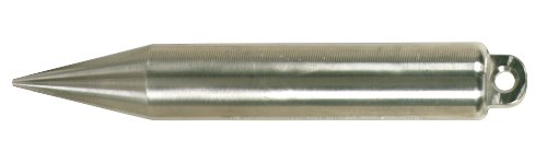 Lufkin-S590-20-Ounce-Stainless-Steel-Cylindrical-Shape-Plumb-Bob-0