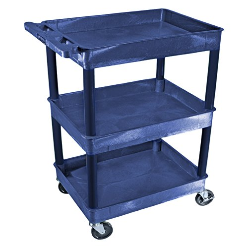 Luxor-3-Shelf-Tub-Cart-Full-Size-0-0