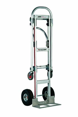 Magline-GMK81UA4-Gemini-Sr-Convertible-Hand-Truck-Pneumatic-Wheels-500-lbs-Load-Capacity-61-Height-55-34-Length-x-21-Width-0