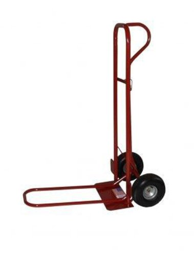 Milwaukee-44915-800-Pound-Capacity-Heavy-Duty-P-Handle-Hand-Truck-with-10-Inch-Pneumatics-and-18-Inch-ToePlate-0