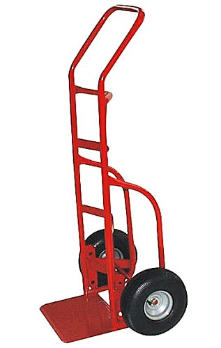 Milwaukee-Hand-Trucks-33012-Heavy-Duty-Flow-Back-Handle-Truck-with-10-Inch-Pneumatic-Tires-0