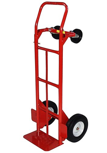 Milwaukee-Hand-Trucks-40180-Convertible-Truck-with-10-Inch-Puncture-Proof-Tires-and-Steel-Hub-0
