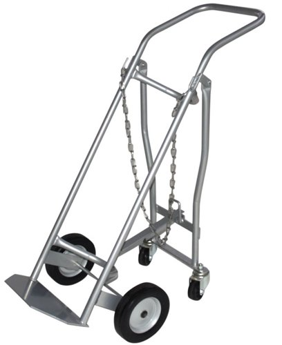 Milwaukee-Hand-Trucks-40767-Medical-Cylinder-Truck-1-Gas-Cylinder-with-Retractable-Casters-0