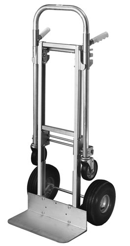 Milwaukee-Hand-Trucks-45136-Modular-Aluminum-Convertible-Truck-with-Twin-Pin-Handle-and-10-Inch-Pneumatic-Tires-0