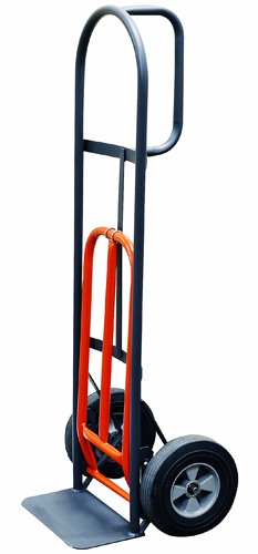 Milwaukee-Hand-Trucks-47515S-D-Handle-Truck-with-10-Inch-Solid-Puncture-Proof-Tires-and-Nose-Plate-Extension-0