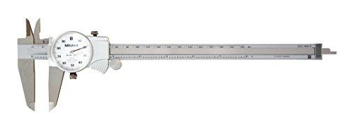 Mitutoyo-505-743-Dial-Caliper-01-per-Rev-0-8-Range-0001-Accuracy-0