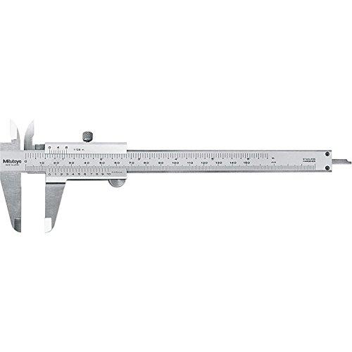 Mitutoyo-530-Series-Vernier-Caliper-Stainless-Steel-InchMetric-For-DepthInsideOutsideStep-Measurements-0