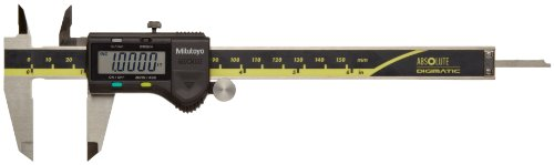 Mitutoyo-ABSOLUTE-500-196-20-Digital-Caliper-Stainless-Steel-Battery-Powered-InchMetric-0-6-Range-0001-Accuracy-00005-Resolution-0-0