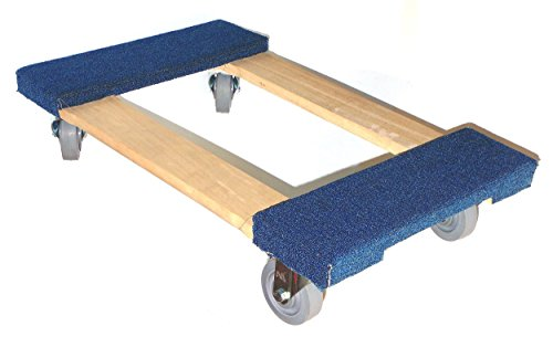 Nk Furniture Movers Dolly Soft Gray Non Marking Tpr Wheels 30 Length X 17 Width Online