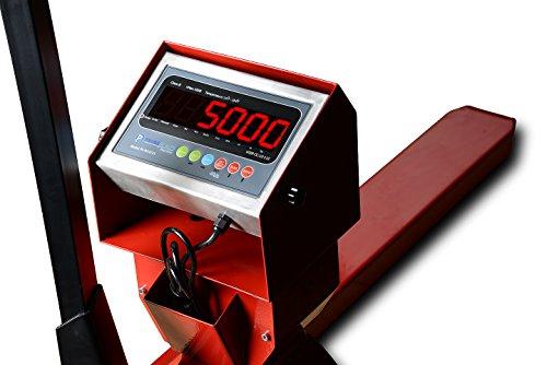 New-Prime-Scales-PS-5000PJ-Pallet-Truck-Scale-Pallet-Jack-Scale-5000x1lb-Low-Profile-0-1