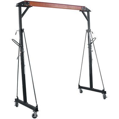 Northern-Industrial-Adjustable-Gantry-Crane-2000-Lb-Capacity-0