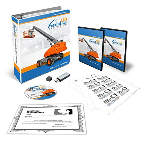 OSHA-Compliant-Aerial-Lift-Operator-COMPLETE-Training-Kit-With-Certificates-Of-Completion-Operator-Cards-Student-Hand-Outs-Hands-On-Evaluation-Checklist-And-More-Contains-EVERYTHING-You-Need-To-Stay-O-0