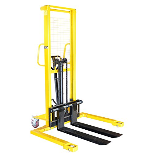 Pro-Series-700398-Manual-Pallet-Stacker-2200-Pound-Capacity-0