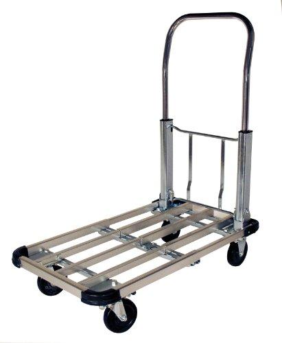 RWM-Casters-PT-CA-Steel-Folding-Handle-Platform-Trucks-330-lbs-Capacity-28-Length-x-16-Width-x-32-12-Height-0