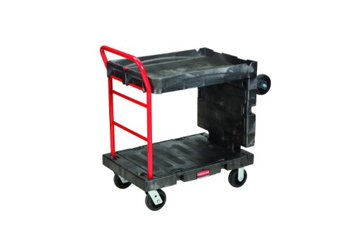 Rubbermaid-Commercial-FG449600BLA-Convertible-Platform-Truck-2000-Pound-Capacity-0-0