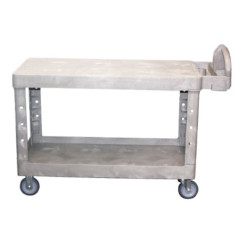 Rubbermaid-Commercial-FG454500BEIG-Heavy-Duty-Utility-Cart-Flat-Shelves-Large-Beige-0