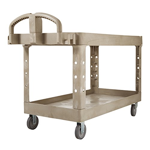 Rubbermaid-Commercial-FG454600BEIG-Heavy-Duty-Utility-Cart-Lipped-Shelves-Large-Beige-0-1
