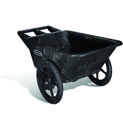 Rubbermaid-Commercial-FG564261BLA-Unassembled-Big-Wheel-HDPE-Dump-Truck-300-Pound-Capacity-0