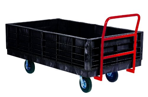 Rubbermaid-Commercial-FG9T0900BLA-Side-Panel-Package-for-Heavy-Duty-Platform-Truck-Black-0