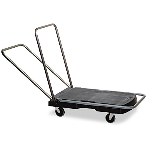 Rubbermaid-Commercial-Utility-Duty-HomeOffice-Cart-250-lb-Capacity-20-78-x-31-34-Platform-Black-440000-0