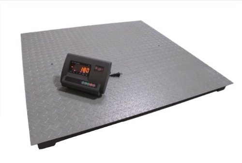 SAGA-NEW-6600LB1LB-4X4-48-DIGITAL-PALLET-SHIPPING-PLATFORM-FLOOR-SCALE-WIND-Brand-new-and-heavy-duty-pallet-scale-0-0