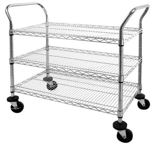 luxor 2 shelf tub cart  full size  u2013 online tools  u0026 supply