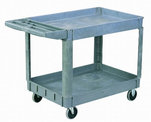 Sandusky-Lee-PUC172733-3-Heavy-Duty-Plastic-Utility-Cart-3-Shelves-0