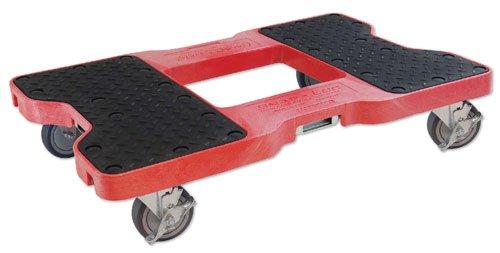 Snap-Loc-AM-1500DR319-PU-High-Density-Polyethylene-E-Track-Dolly-1500-lbs-Capacity-32-Length-x-21-Width-x-7-Height-Red-0