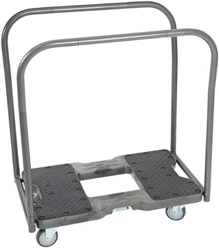 Snap-Loc-AM-1500PCB319-PU-High-Density-Polyethylene-E-Track-Panel-Cart-1500-lbs-Capacity-35-Length-x-21-Width-x-39-Height-Black-0-0