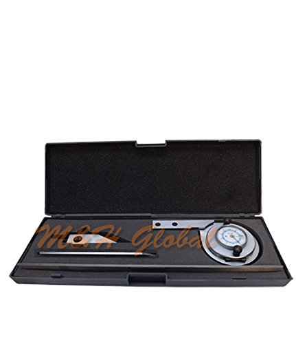 Stainless-Steel-Universal-Dial-Bevel-Protractor-Indicator-6-12-Blade-90-Degree-0