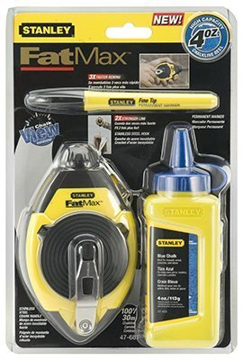 Stanley-Consumer-Tools-47-681L-Fatmax-Chalk-Line-Level-Set-Quantity-6-by-Stanley-Consumer-Tools-0