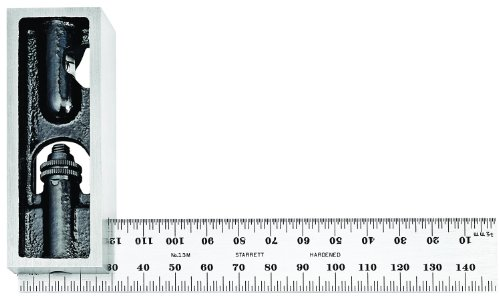 Starrett-13MC-Millimeter-Reading-Double-Square-With-Graduated-Blade-150mm-Size-0