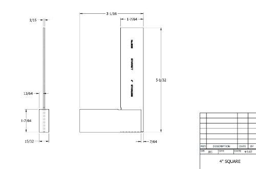 Starrett-3020-4-Toolmakers-Grade-Stainless-Steel-Square-2-3132-Beam-Length-3-3132-Blade-Length-0-0