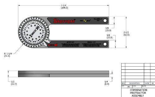 Starrett-505A-7-ProSite-Protractor-0-0