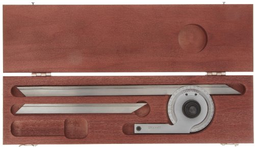 Starrett-C359FZ-Precision-Universal-Bevel-Vernier-Protractor-Through-360-Degree-Graduations-7-And-12-Blade-Size-0