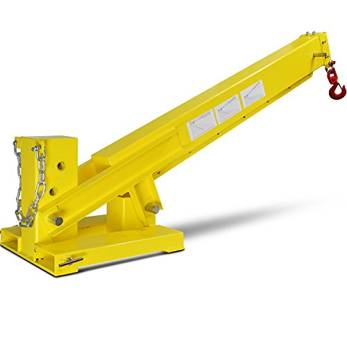 Titan-Forklift-Adjustable-Mobile-Crane-Lifting-Hoist-Truss-Jib-Boom-Hook-6000lb-0-0