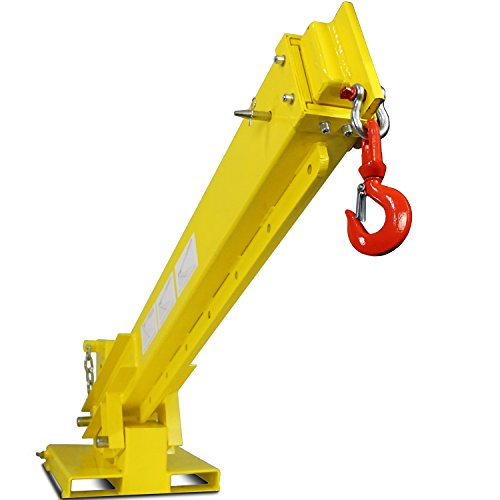 Titan-Forklift-Adjustable-Mobile-Crane-Lifting-Hoist-Truss-Jib-Boom-Hook-6000lb-0-1